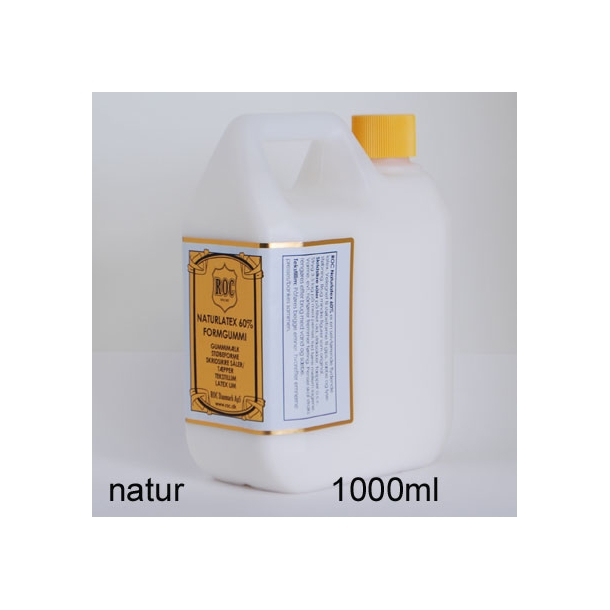 Natur latex formgummi 1000 ml natur