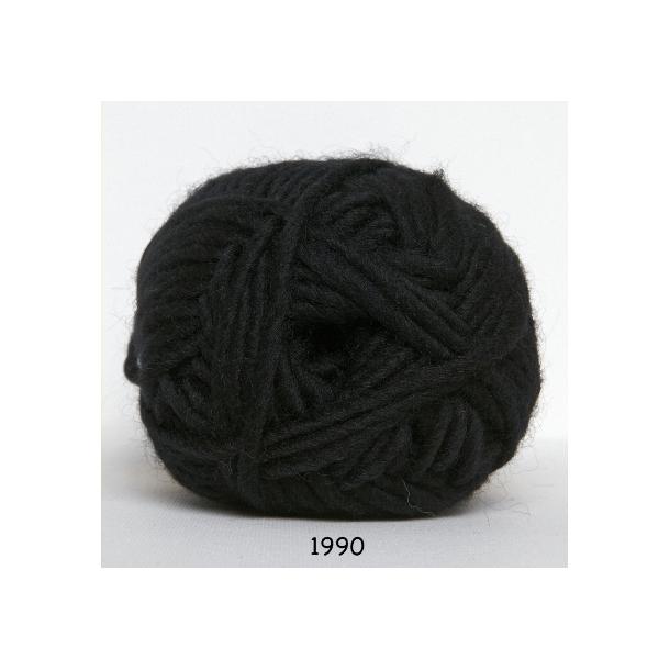 Natur uld sort     fv 1990