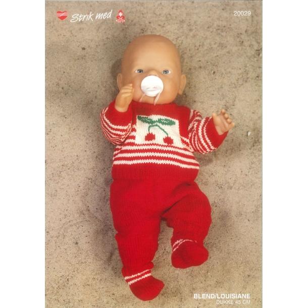 Opskrift Babyborn   nr 20029