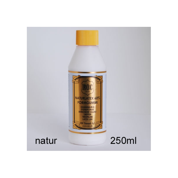 Natur latex formgummi 250ml natur