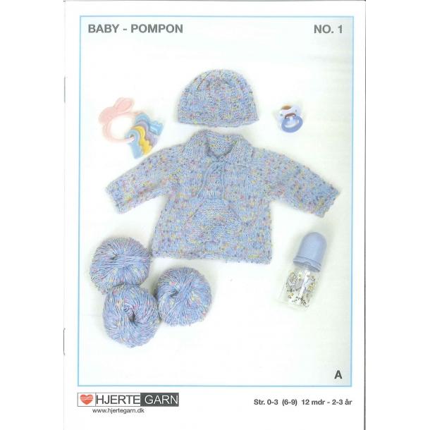 Baby Pompon hæfte    nr 1