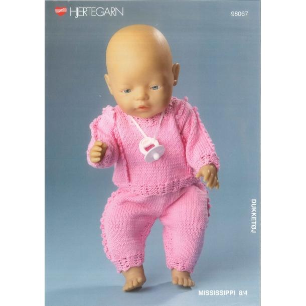 Opskrift BABY BORN    nr.98067