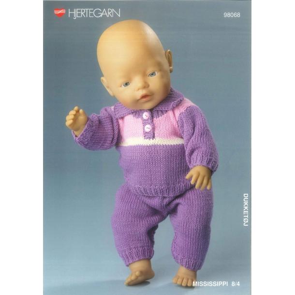 Opskrift BABY BORN    nr.98068
