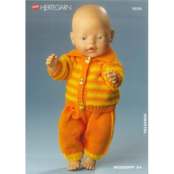 Opskrift BABY BORN    nr.98069